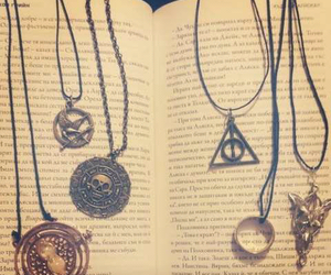 books, harry potter, and jewerly image