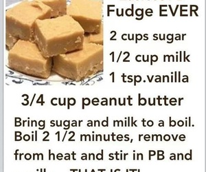 fudge, food, and recipe image