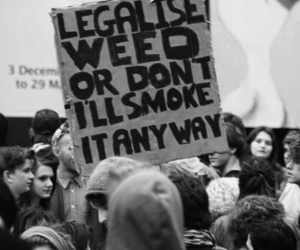 weed, smoke, and quote image