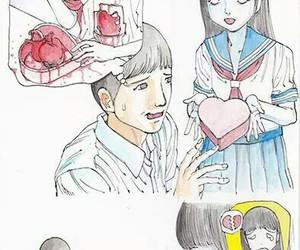 heart, manga, and love image
