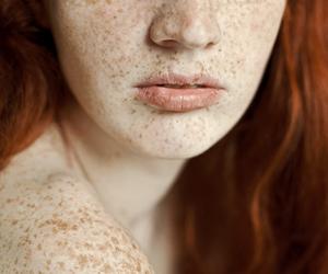 blue eyes, deviantart, and freckles image