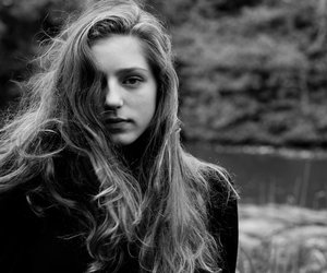 birdy, music, and black and white image