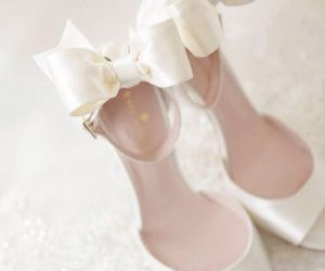 shoes, wedding, and beautiful image