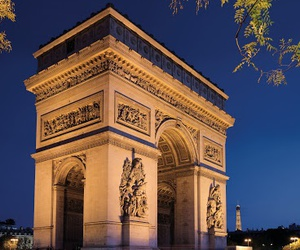 paris, france, and arc de triomphe image