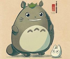 totoro, anime, and studio ghibli image