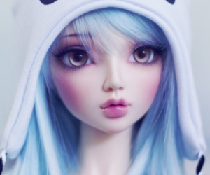 doll, cute, and panda image