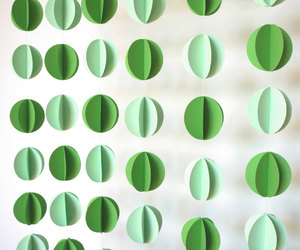 3d, garland, and green image