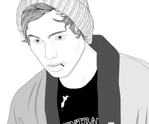 luke hemmings, draw, and LUke image