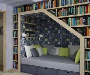 book and bedroom image