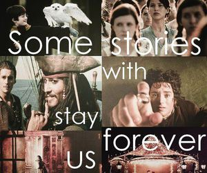 harry potter, narnia, and pirates of the caribbean image