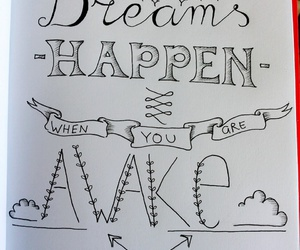 drawing, dreams, and handlettering image