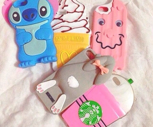 iphone, case, and starbucks image