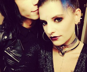 juliet simms, andy biersack, and love image
