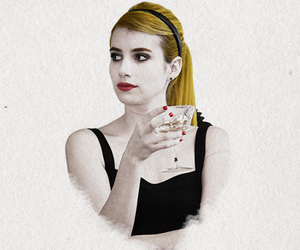 coven, emma roberts, and american horror story image