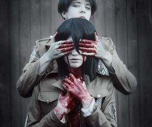 anime, cosplay, and snk image