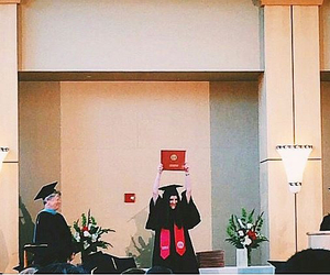 graduation, student, and isabelle fuhrman image
