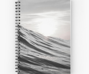 nature, notebook, and ocean image