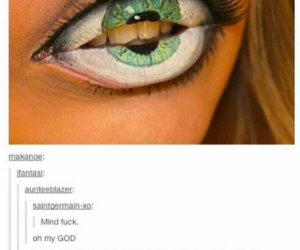 cool, eyes, and funny image