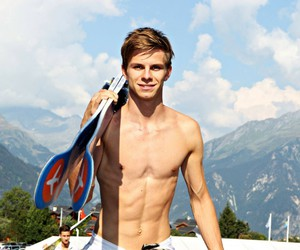 ski jumping and andreas wellinger image