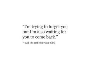 breakup, come back, and forget image