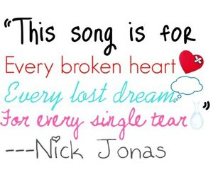 jonas brothers, quote, and text image