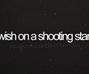 wish and shooting star image