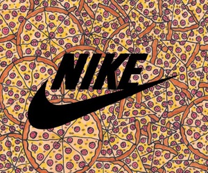 background, food, and nike image