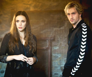 quicksilver, scarlet witch, and wanda maximoff image