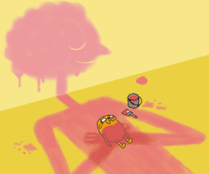 adventure time, JAKe, and prismo image