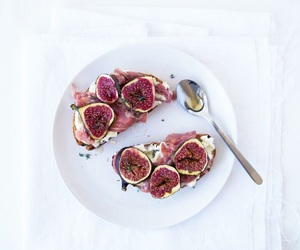 fig, food, and bread image