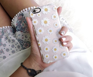 flowers, fashion, and iphone image