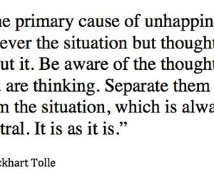 quote, words, and eckhart tolle image