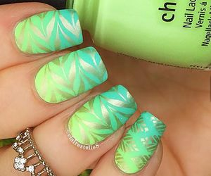 girly, teen, and pretty nails image