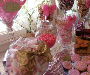 birthday, pink, and candy image