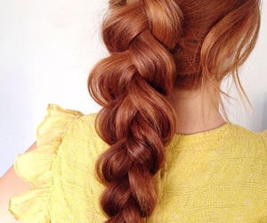 beauty, braid, and fashion image