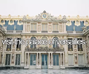 architecture, vintage, and versailles image