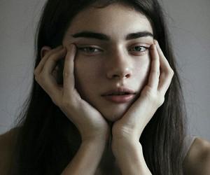 black, antonina vasylchenko, and eyebrows image
