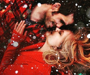 christmas, captain hook, and emma swan image