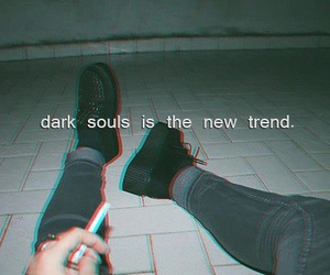 grunge, quote, and dark image