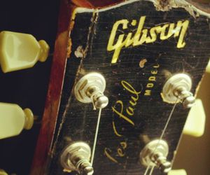 gibson, les paul, and old image