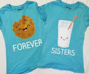 forever, sisters, and cookie image
