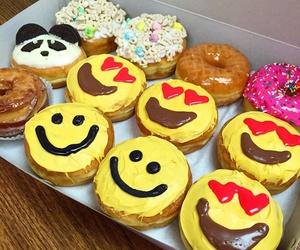 emoji and donuts image
