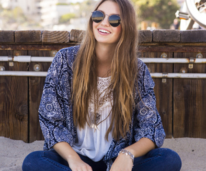denim, hair, and fashion image