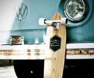 longboard, skate, and car image