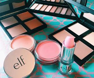makeup, elf, and cosmetics image