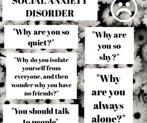 sad, social anxiety, and s.a.d image