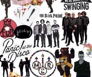 bands, mcr, and music image