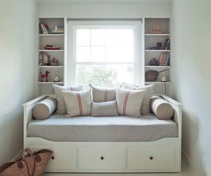 rooms, sofa bed, and tumblr rooms image