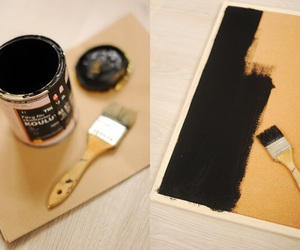 art, diy, and chalkboard image