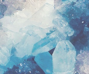 blue, header, and crystal image